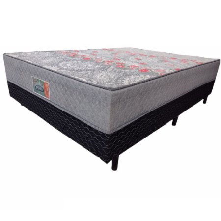 Cama Box Casal Conjugado Portal Supreme D28 PR 138X41X188
