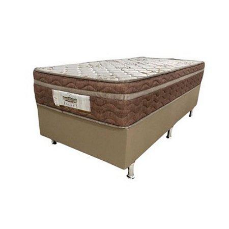 Conjunto Cama Box Solteiro Prodormir Palace Molas Prolastic 88x70x188
