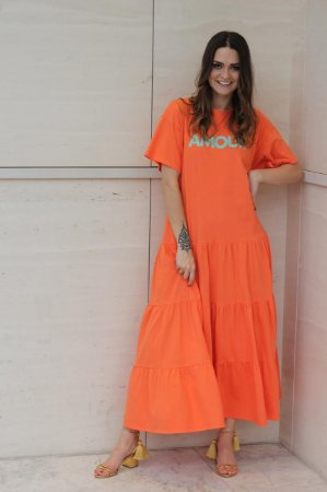 Vestido Amour Cenoura