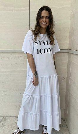 Vestido Style Icon Branco