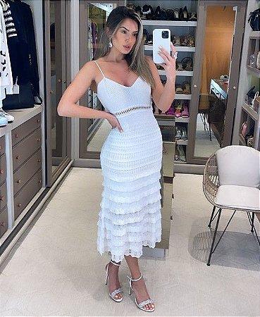 Vestido Midi Branco