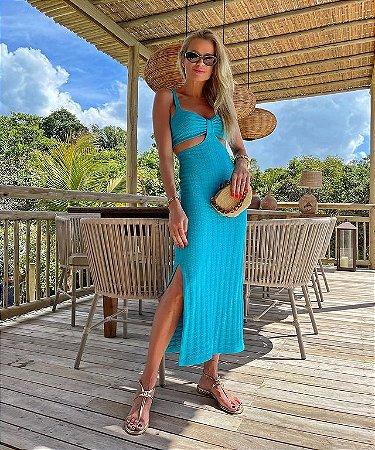 Vestido Noronha Azul