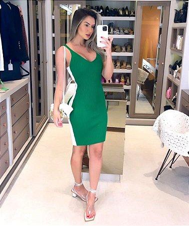 Vestido de Tricot Malibu Verde