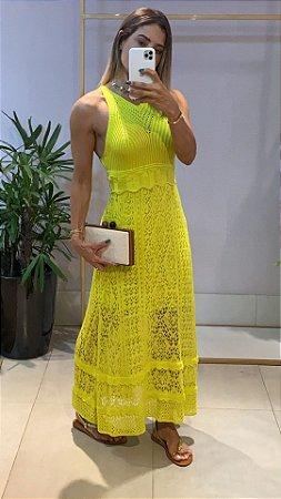 Vestido Longo Lima