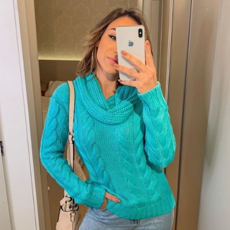 Blusa Tiffany Tranças