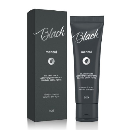 LUBRIFICANTE BEIJÁVEL BLACK MENTOL