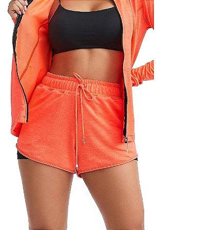 Shorts Fitness Active Laranja
