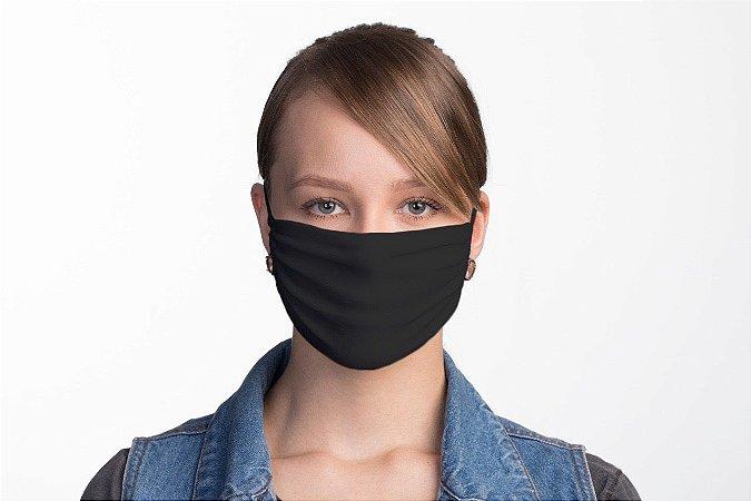 Kit 5 Unidades de Máscaras Pretas
