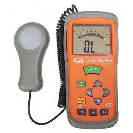 LD-555 - LUXÍMETRO DIGITAL - ICEL