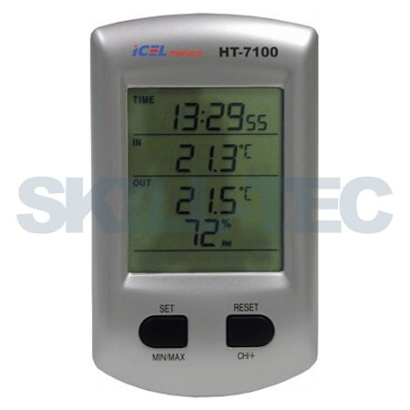 HT-7100 - TERMO-HIGROMETRO DIGITAL - ICEL