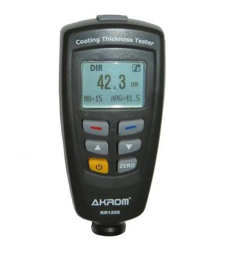 KR-1250 - AKROM - Medidor Espessura Camadas Tinta