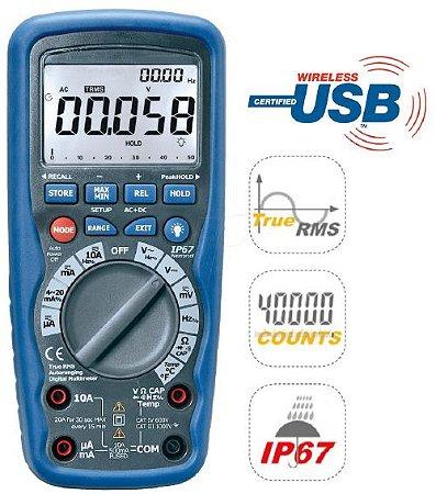 SKMD-9939 - SKILL-TEC - Multímetro Digital TRUE RMS
