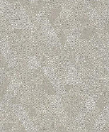 Papel de Parede Geométrico Bege