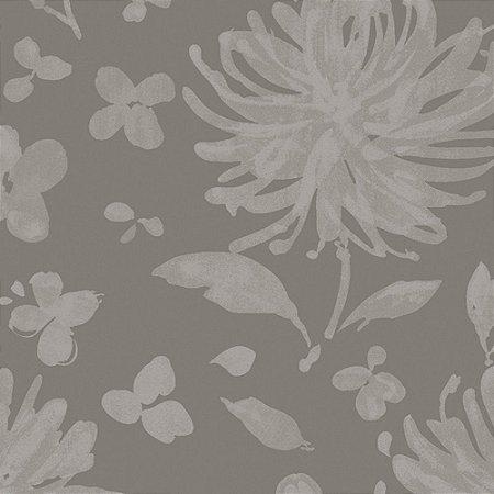 Papel de Parede Floral Fendi