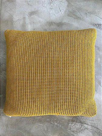 Almofada Pop 50x50 Flan Amarelo