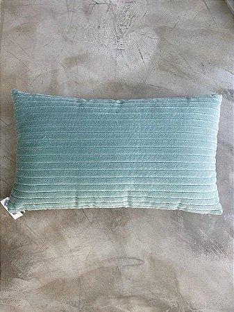 Almofada Cotele 50x30 Verde Celadon