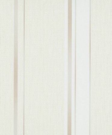 Papel de Parede de Listras Cinza / Bege / Dourado