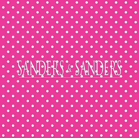 Papel de Parede Infantil Poá Pink e Branco