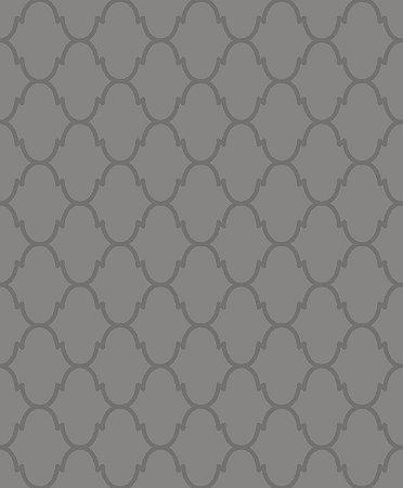Papel de Parede Geométrico Bolinha de Vidro Cinza