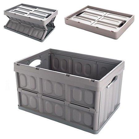 Caixa Organizadora Multiuso Desmontável 42Lts Plasutil