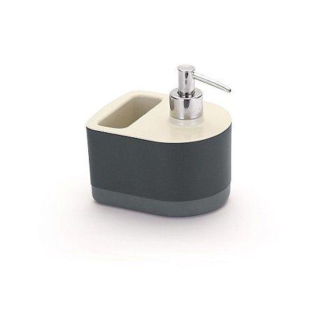 Porta Detergente e Bucha Arthi 5054 - Branco