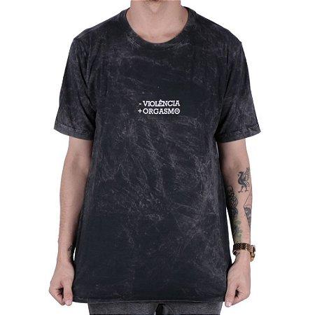 Camisa chronic ( - violência + orgasmo )
