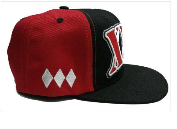 Boné tradicional xxl vermelho e preto