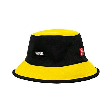 Bucket hat prison amarelo