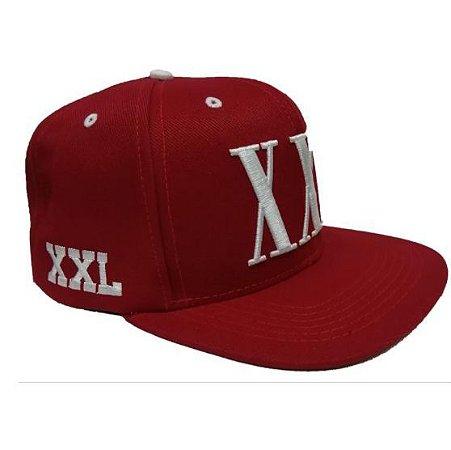 Boné logo xxl snapback vermelho