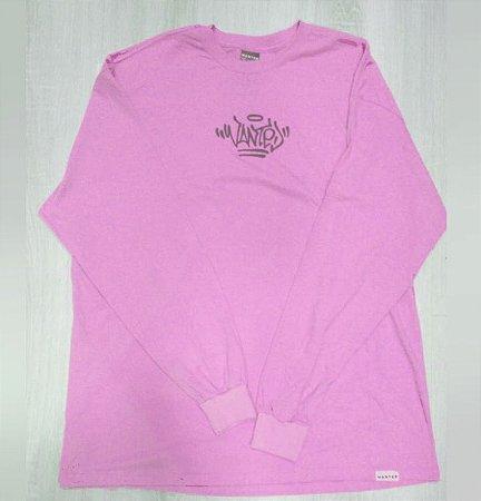 Camisa manga longa wanted