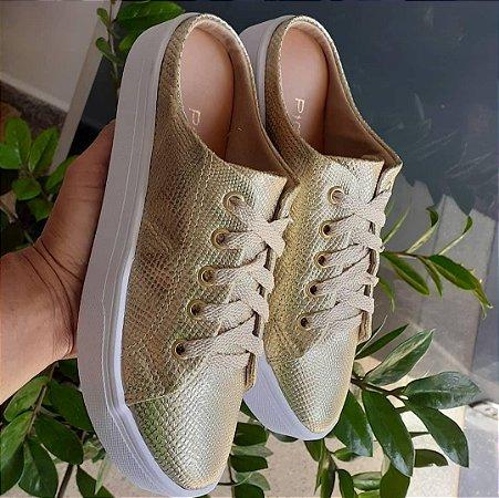 Sapato Pimenta Malta Ouro Light