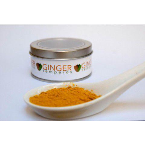 Cúrcuma 34g Ginger Temperos