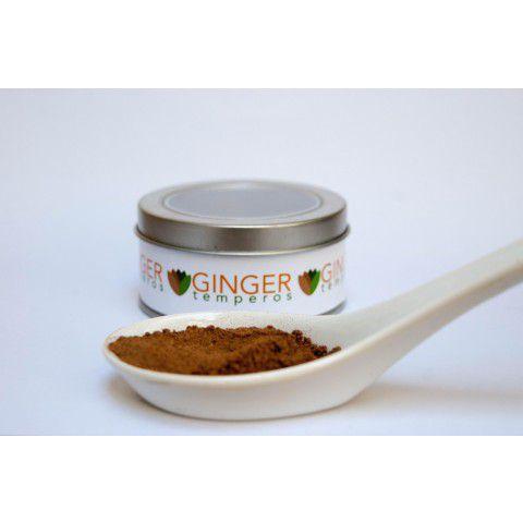 Noz moscada em pó 25g Ginger Temperos