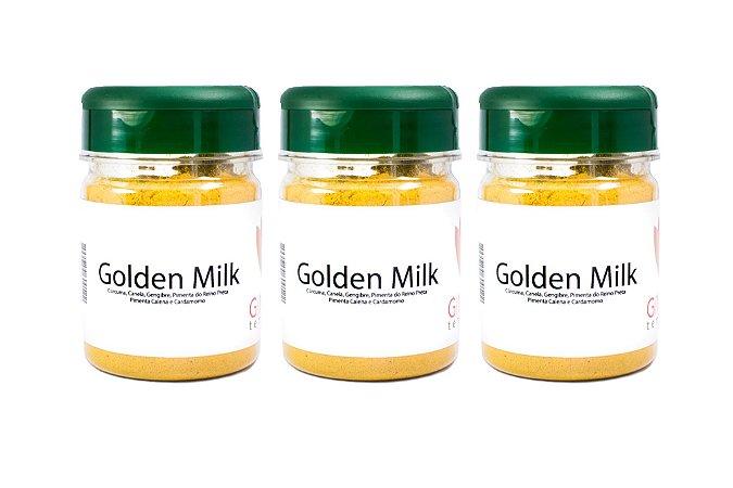 Kit 3 Golden Milk
