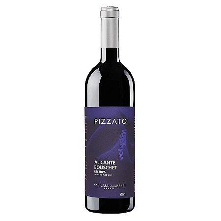 Pizzato Vinho Tinto Reserva Veludo Azul Alicante Bouschet 2019