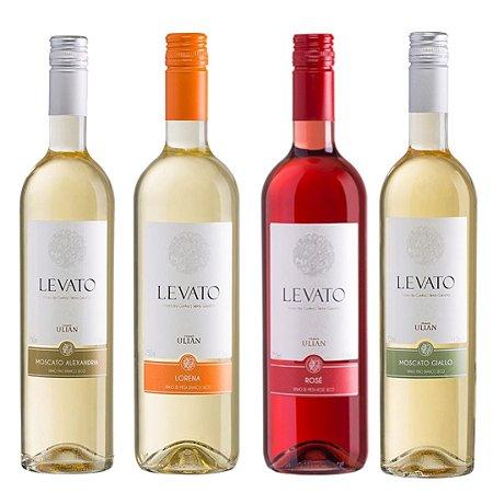 Kit de Vinhos Levato