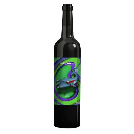 Indigenous Vinho Tinto Fauna Baleia Franca Merlot 2019