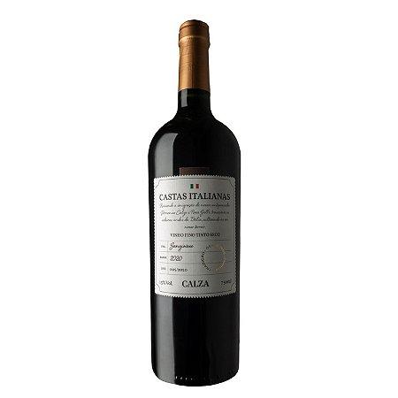 Calza Vinho Tinto Castas Italianas Sangiovese 2020