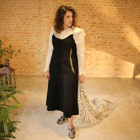 Vestido Tomie - Lúcia Higuchi