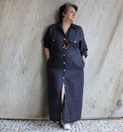 Vestido Amélia Liso - Studio LIca Soares