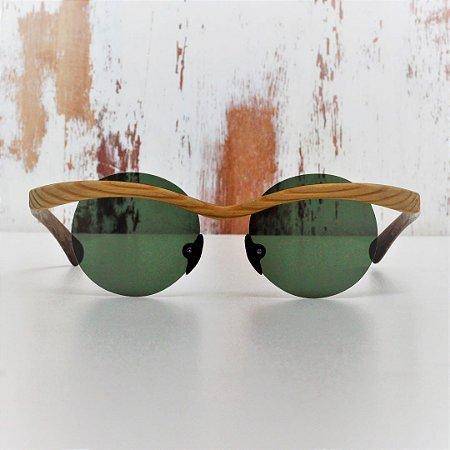 Óculos de Sol Modelo Gaivota Pixoxó em Pinho de Riga Hayô