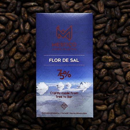 Chocolate Flor de Sal 75% Cacau Mestiço Chocolates