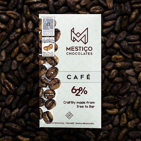 Chocolate Café 62% Cacau Mestiço Chocolates