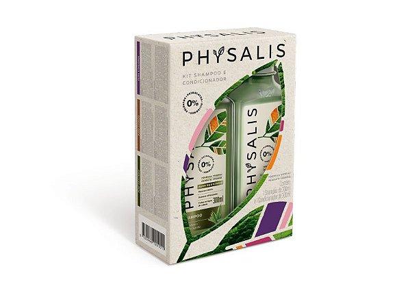 Kit Shampoo + Condicionador Puro Equilíbrio Physalis