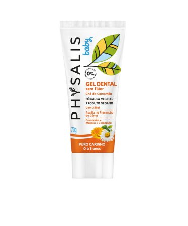 Gel Dental Infantil Physalis