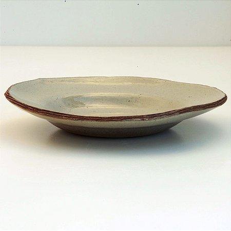 Prato Para Massa – Coleção Mesa Rústica Sandra Oli Cerâmica
