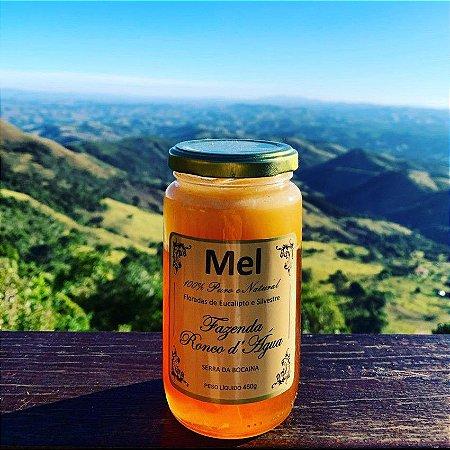 Mel 100% natural produzido na Fazenda Ronco D'Agua