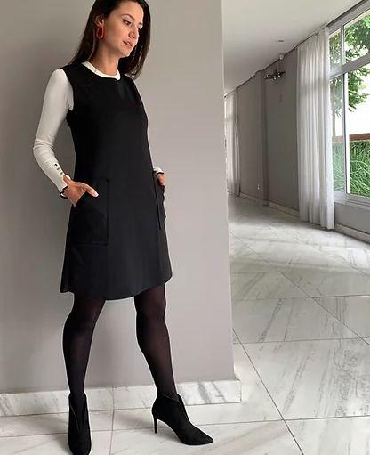 Vestido Atemporal Preto Martina Vaz
