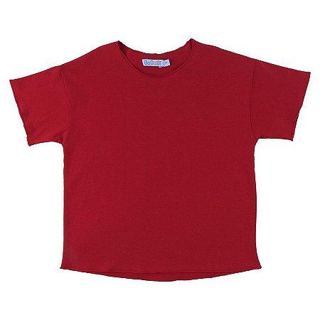 Camiseta Relax Vermelha - BaGuBi