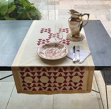 Tête-a-tête ESTRELA INCA Rosa Antigo Tapirusprint